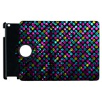 Polka Dot Sparkley Jewels 2 Apple iPad 2 Flip 360 Case
