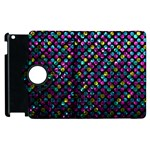 Polka Dot Sparkley Jewels 2 Apple iPad 3/4 Flip 360 Case
