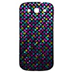 Polka Dot Sparkley Jewels 2 Samsung Galaxy S3 S III Classic Hardshell Back Case