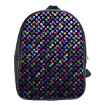 Polka Dot Sparkley Jewels 2 School Bag (XL)