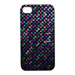 Polka Dot Sparkley Jewels 2 Apple iPhone 4/4S Hardshell Case with Stand