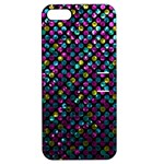 Polka Dot Sparkley Jewels 2 Apple iPhone 5 Hardshell Case with Stand