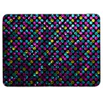 Polka Dot Sparkley Jewels 2 Samsung Galaxy Tab 7  P1000 Flip Case