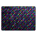 Polka Dot Sparkley Jewels 2 Samsung Galaxy Tab 10.1  P7500 Flip Case