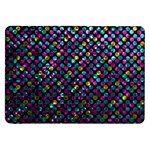 Polka Dot Sparkley Jewels 2 Samsung Galaxy Tab 8.9  P7300 Flip Case