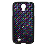 Polka Dot Sparkley Jewels 2 Samsung Galaxy S4 I9500/ I9505 Case (Black)