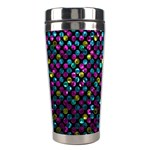Polka Dot Sparkley Jewels 2 Stainless Steel Travel Tumbler