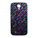 Polka Dot Sparkley Jewels 2 Samsung Galaxy S4 I9500/I9505  Hardshell Back Case