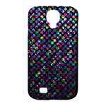 Polka Dot Sparkley Jewels 2 Samsung Galaxy S4 Classic Hardshell Case (PC+Silicone)