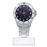 Polka Dot Sparkley Jewels 2 Nurses Watch