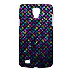 Polka Dot Sparkley Jewels 2 Samsung Galaxy S4 Active (I9295) Hardshell Case