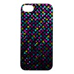 Polka Dot Sparkley Jewels 2 Apple iPhone 5S Hardshell Case