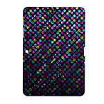 Polka Dot Sparkley Jewels 2 Samsung Galaxy Tab 2 (10.1 ) P5100 Hardshell Case