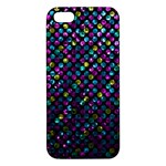 Polka Dot Sparkley Jewels 2 iPhone 5S Premium Hardshell Case