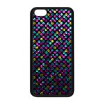 Polka Dot Sparkley Jewels 2 Apple iPhone 5C Seamless Case (Black)