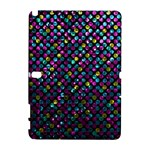 Polka Dot Sparkley Jewels 2 Samsung Galaxy Note 10.1 (P600) Hardshell Case