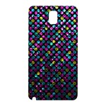 Polka Dot Sparkley Jewels 2 Samsung Galaxy Note 3 N9005 Hardshell Back Case
