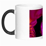 Rose and Black Explosion Fractal Morph Mug