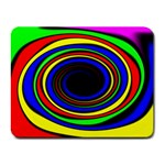 Primary Colors Bright Fractal Small Mousepad