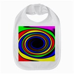 Primary Colors Bright Fractal Bib