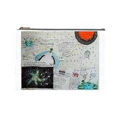 Neutrino Gravity, Cosmetic Bag (large) by creationtruth