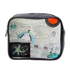 Neutrino Gravity, Mini Travel Toiletry Bag (two Sides) by creationtruth