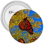 Monarch Butterfly 3  Button