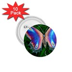 Butterfly on the Wing 1.75  Button (10 pack)