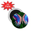 Butterfly on the Wing 1.75  Magnet (10 pack)