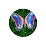 Butterfly on the Wing Magnet 3  (Round)