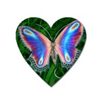 Butterfly on the Wing Magnet (Heart)