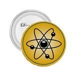 Atom Symbol 2.25  Button
