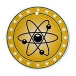 Atom Symbol Round Ornament