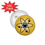 Atom Symbol 1.75  Button (100 pack)