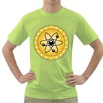 Atom Symbol Men s T-shirt (Green)