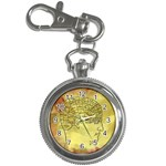Brain Map Key Chain Watch