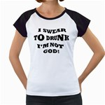 GOD Women s Cap Sleeve T