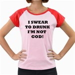 GOD Women s Cap Sleeve T-Shirt