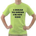 GOD Green T-Shirt
