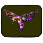Rainbow Hummingbird Netbook Case (Large)
