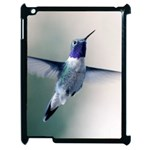 Rainbow Hummingbird Apple iPad 2 Case (Black)