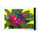 Rainbow Hummingbird Apple iPad 3/4 Flip Case