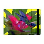 Rainbow Hummingbird Apple iPad Mini Flip Case
