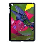Rainbow Hummingbird Apple iPad Mini Case (Black)