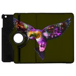 Rainbow Hummingbird Apple iPad Mini Flip 360 Case