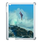 Hummingbird and Dolphin Apple iPad 3/4 Case (White)