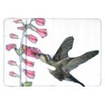 Rainbow Hummingbird Samsung Galaxy Tab 8.9  P7300 Flip Case