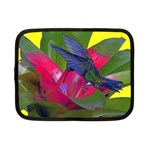 1hummingbird Flower 615 Netbook Case (Small)