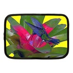 1hummingbird Flower 615 Netbook Case (Medium)