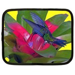 1hummingbird Flower 615 Netbook Case (Large)